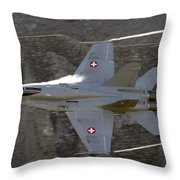 Supersonic Throw Pillow