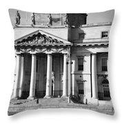The Customs House Throw Pillow