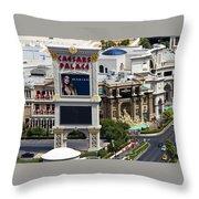 The Forum Shops Throw Pillow