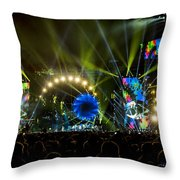 The Grateful Dead At Soldier Field Fare Thee Well Tour Throw Pillow