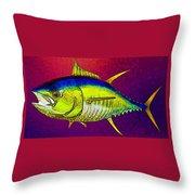 Underwater. Fish. Throw Pillow