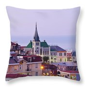Valparaiso, Chile Throw Pillow