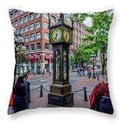 Vancouver Bc Canada Throw Pillow
