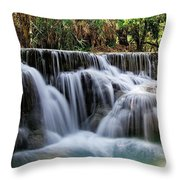 Waterfalls Throw Pillow
