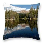 Yosemite Reflections Throw Pillow