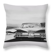 60 Impala Lowrider Throw Pillow