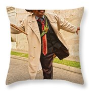 Traversing Santiago De Cuba, Cuba. Throw Pillow