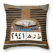 600 Lives Here Throw Pillow