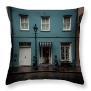 608 Bienville Street Throw Pillow
