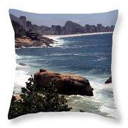 Beach Throw Pillow
