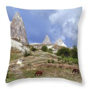 Cappadocia - Turkey Throw Pillow