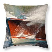 Riva Aquarama Throw Pillow