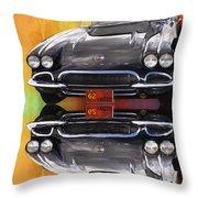 62 Corvette Throw Pillow