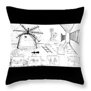 6.20.hungary-3-detail-b Throw Pillow