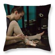 6271 Toe Shoes - Alexa  Throw Pillow