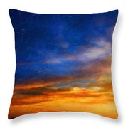 Nature Cool Landscape Throw Pillow