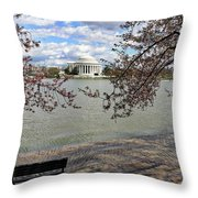 Washington Dc Usa Throw Pillow