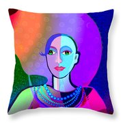 646 - Ice And Passion A Throw Pillow