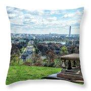 Washington Dc Usa Throw Pillow