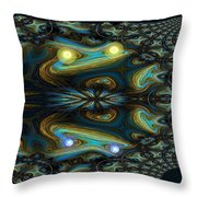 651 Speed Of Light Throw Pillow