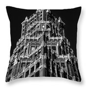 66 Court Street In Brooklyn Ny Throw Pillow