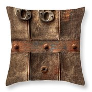 66... Throw Pillow by Evelina Kremsdorf