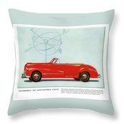 66 Oldsmobile Throw Pillow