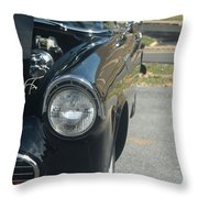 55 Thunderbird Front And Side Throw Pillow