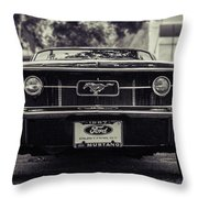 67 In The Shade Throw Pillow