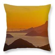 Rio De Janeiro Throw Pillow