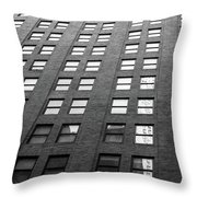 67 Wall St Throw Pillow