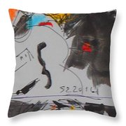 68 And 77 Throw Pillow