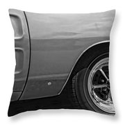 '68 Charger Throw Pillow