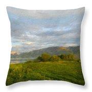 Landscape Nature Art Throw Pillow