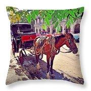 Havana, Cuba Throw Pillow