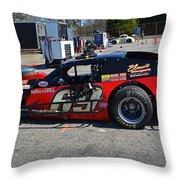 69 In The Paddock Throw Pillow