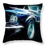 69 Mustang Mach 1 Fantasy Car Throw Pillow