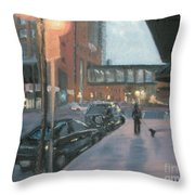 6th And Sibley Throw Pillow