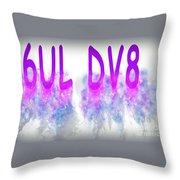 6ul Dv8 Throw Pillow