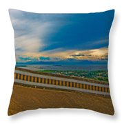6x1 Philippines Number 413 Panorama Tagaytay Throw Pillow