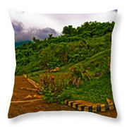 6x1 Philippines Number 470 Panorama Tagaytay Throw Pillow