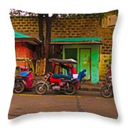 6x1 Philippines Number 48 Panorama Throw Pillow