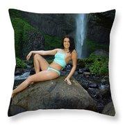 Sierra Mccallister  Throw Pillow