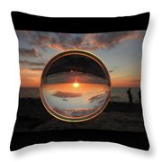 7-26-16--4577 Don't Drop The Crystal Ball, Crystal Ball Photography Throw Pillow