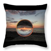 7-26-16--4581 Don't Drop The Crystal Ball, Crystal Ball Photography Throw Pillow
