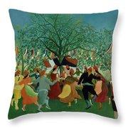 A Centennial Of Independence Throw Pillow