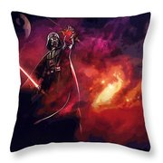A Star Wars Art Throw Pillow