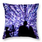 Abstract Light Throw Pillow