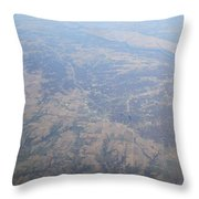 An Aerial View Of Ohio Throw Pillow