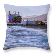 Arrieta - Lanzarote Throw Pillow